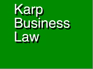 Karp Bus Law Logo