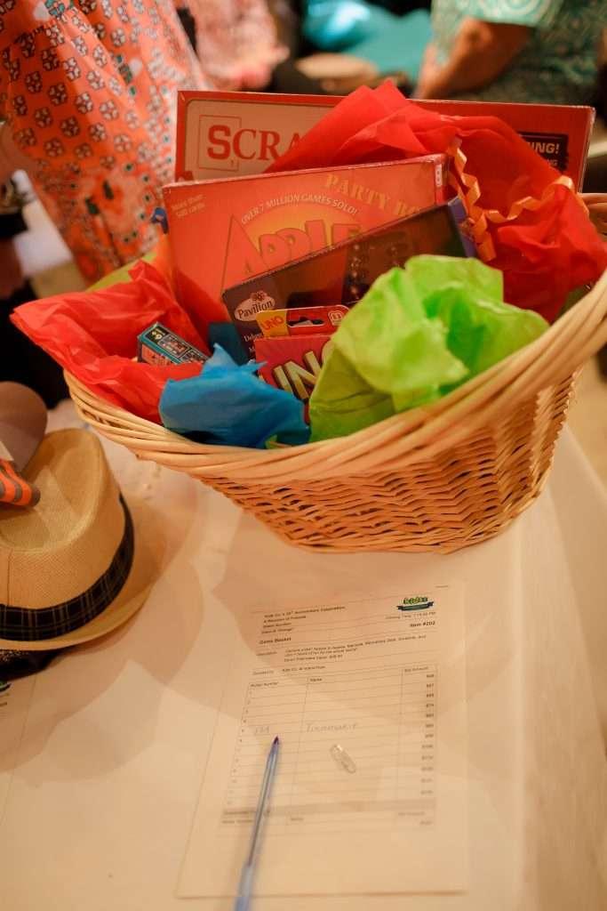 Gift Basket Full of Games